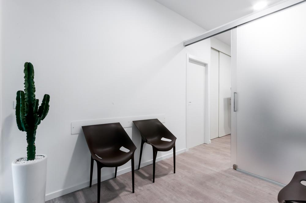 Sala d'aspetto dello studio Marco Temporin